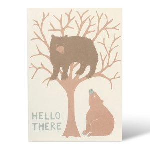 Hello There Bear card by Cambridge Imprint