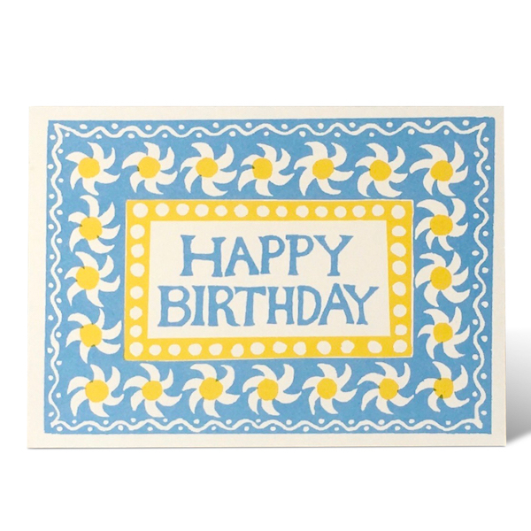 Springtime Happy Birthday card by Cambridge Imprint