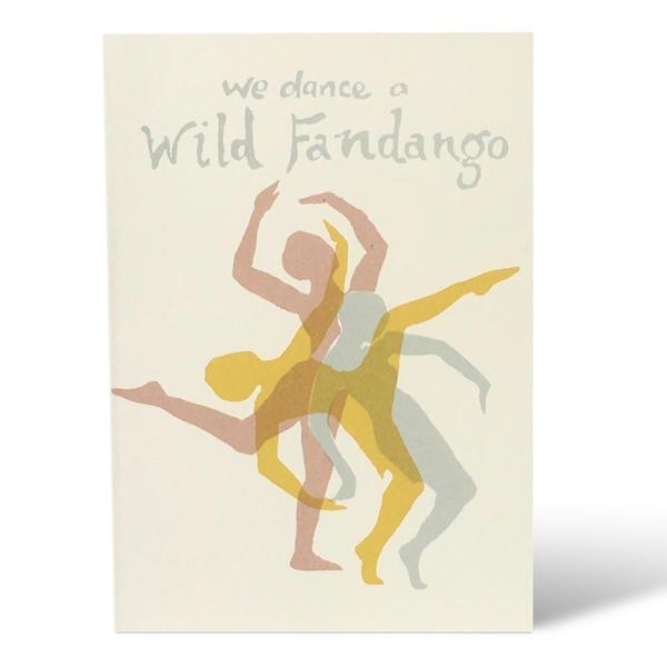 Wild Fandango card by Cambridge Imprint