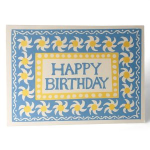 Cambridge Imprint Springtime Happy Birthday Card