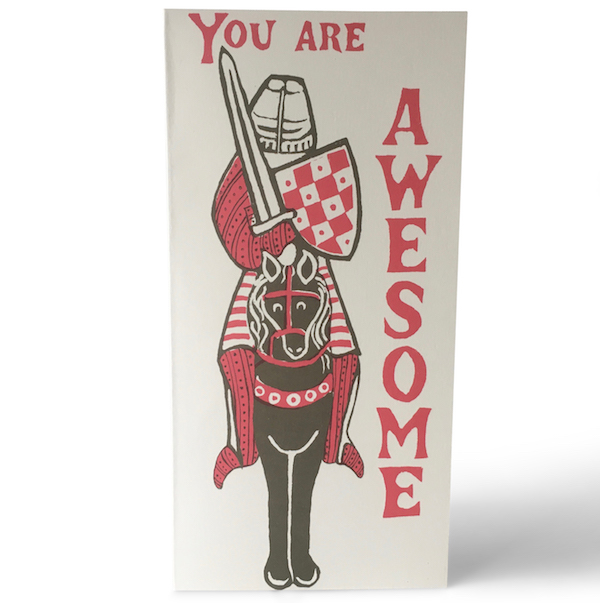 Cambridge Imprint Awesome Knight Card