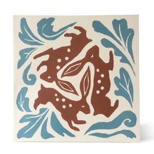 Three Hares card by Cambridge Imprint