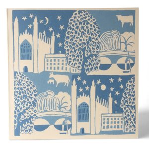 Cambridge Summer card by Cambridge Imprint for Heffers Bookshop