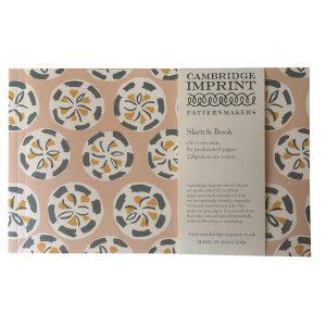 Cambridge Imprint Patterned Sketchbook