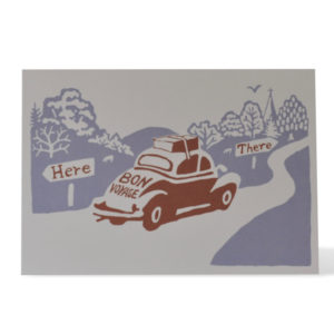 Here and There card by Cambridge Imprint