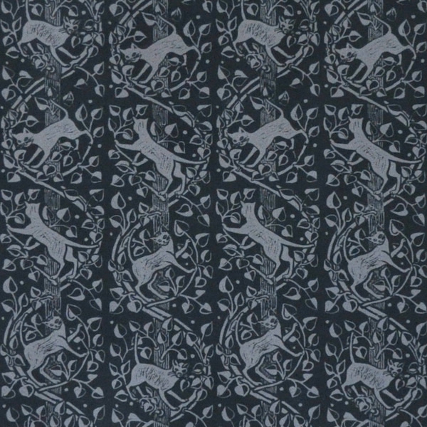 Cats design by Peggy Angus, published as a patterned paper by Cambridge Imprint