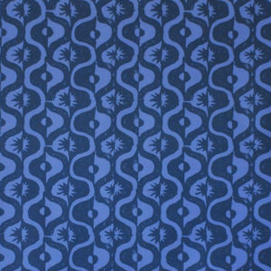 Medallion design by Peggy Angus, published as a patterned paper by Cambridge Imprint