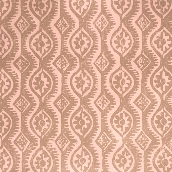 Small Damask design by Peggy Angus, published as a patterned paper by Cambridge Imprint