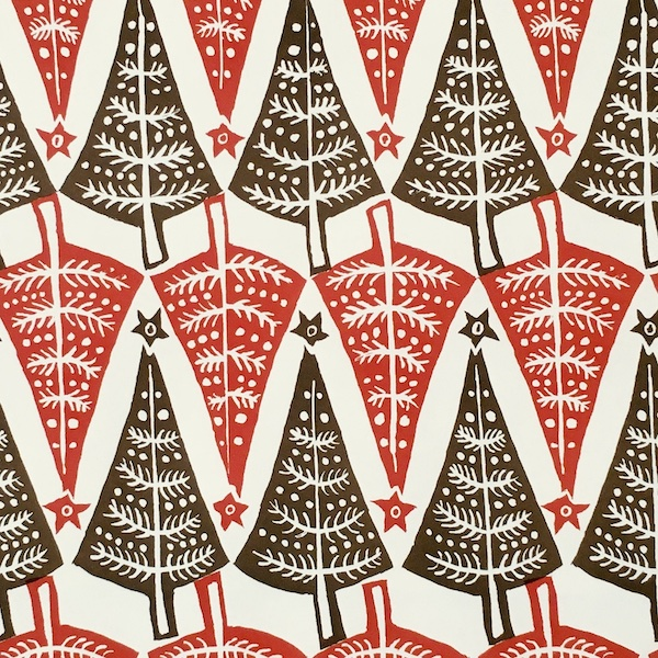 Dancing Trees Patterned Paper by Cambridge Imprint