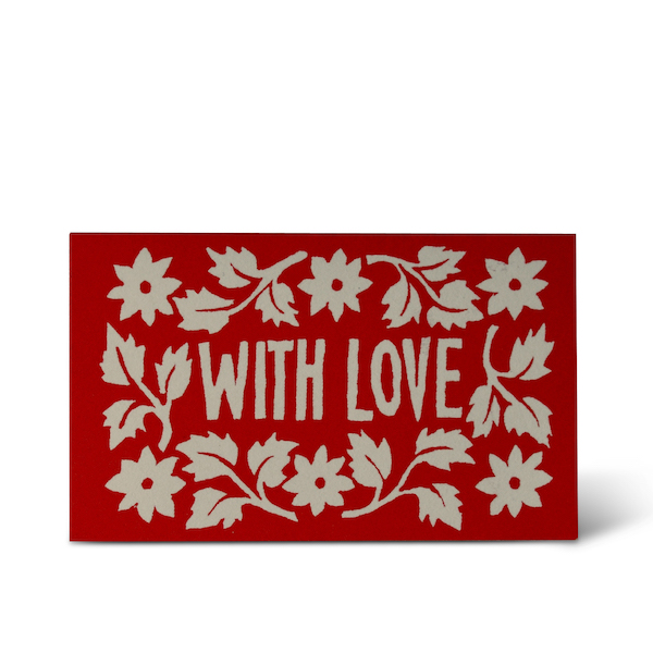 Tiny Leaves and Stars Gift Card by Cambridge Imprint
