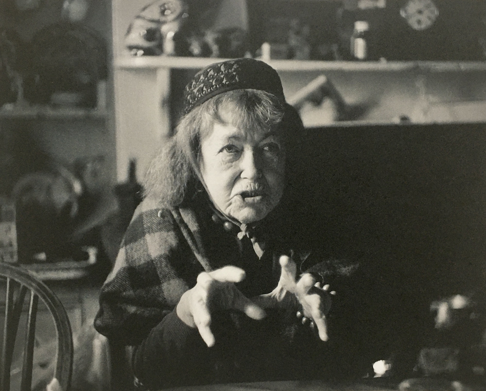 Peggy Angus photographed by James Ravilious