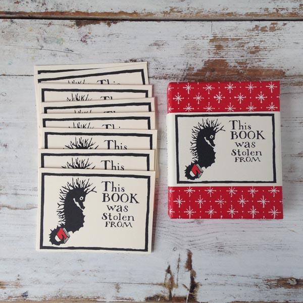 Bookplates Seahorse