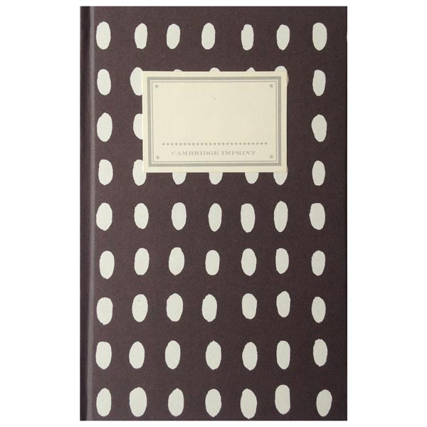 Cambridge Imprint Hardback Notebook Bean coffee