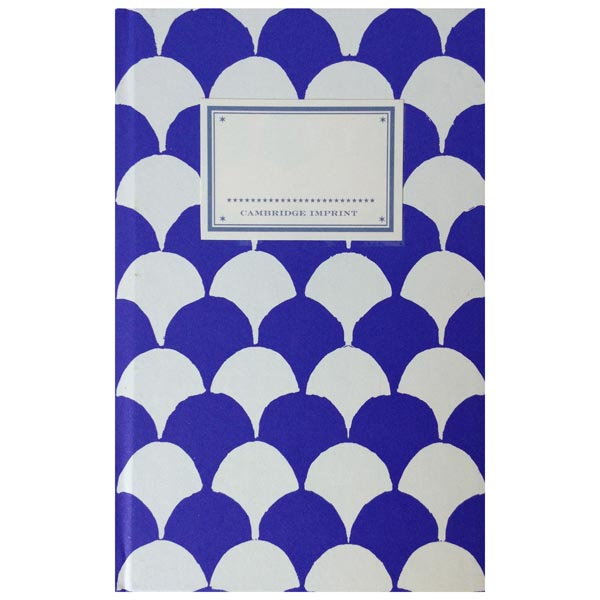Cambridge Imprint Hardback Notebook Clamshell French ultramarine