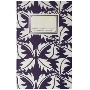 Cambridge Imprint Hardback Notebook Dandelion navy