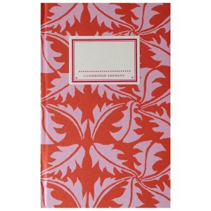 Cambridge Imprint Hardback Notebook Dandelion rose and rust