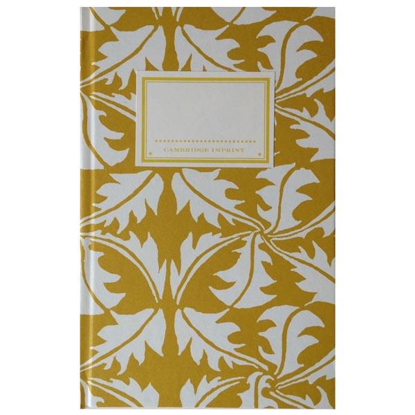 Cambridge Imprint Hardback Notebook Dandelion turmeric