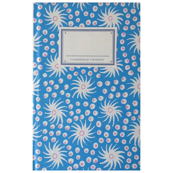 Cambridge Imprint Hardback Notebook Milky Way blue and old red