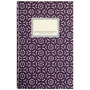 Cambridge Imprint Hardback Notebook Small Pear Halves elderberry