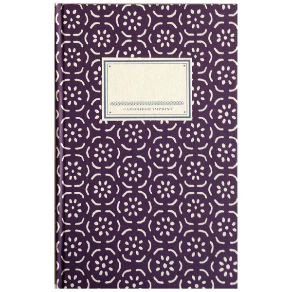 Cambridge Imprint Hardback Notebook Small Pear Halves elderberry