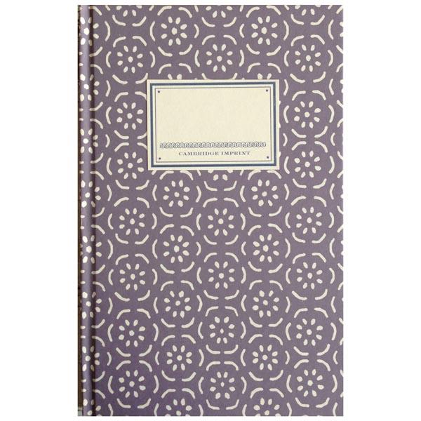 Cambridge Imprint Hardback Notebook Small Pear Halves lavender grey
