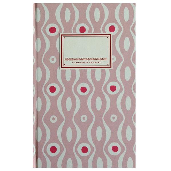 Cambridge Imprint Hardback Notebook Persephone pink and raspberry