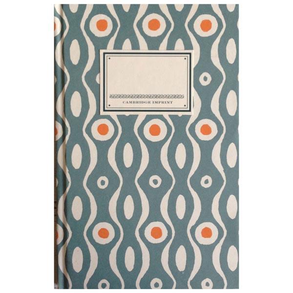 Cambridge Imprint Hardback Notebook Persephone teal and orange