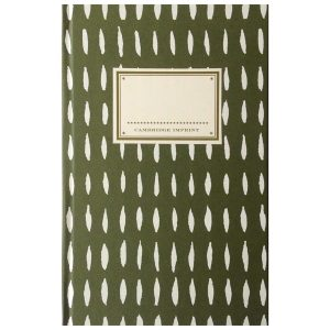 Cambridge Imprint Hardback Notebook Seed olive