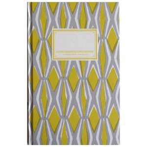 Cambridge Imprint Hardback Notebook Smocking yellow and grey