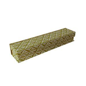 Pen Boxes Oak Leaves Sap Green by Cambridge Imprint